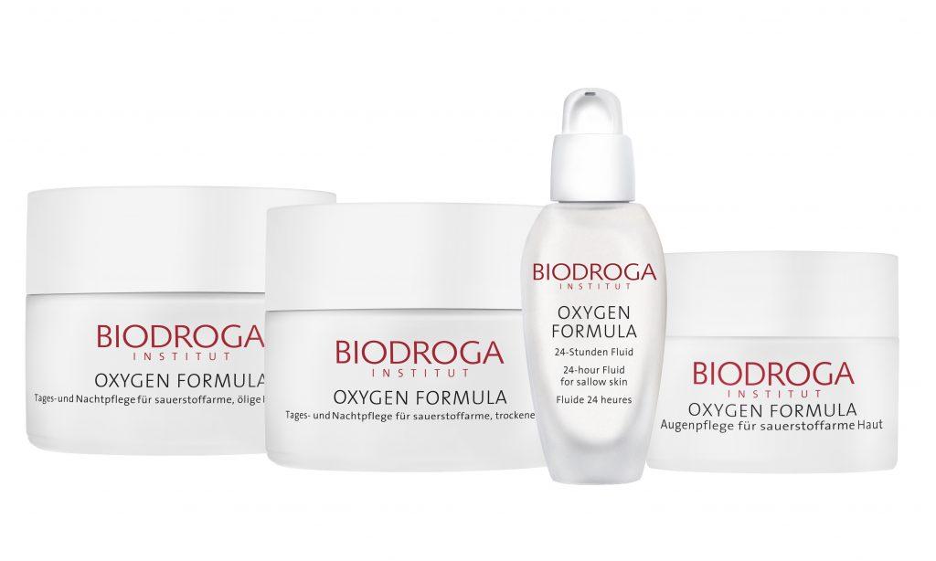Biodroga oxygen formula facial